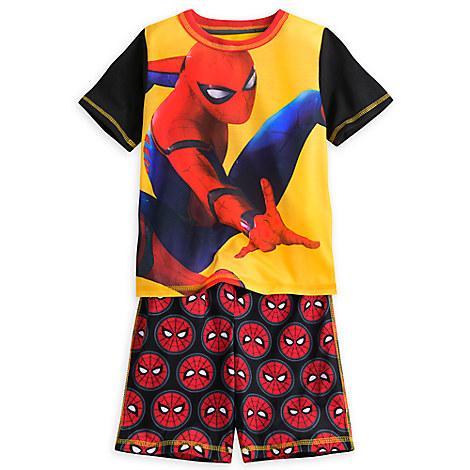 Пижама Человек Паук Дисней для мальчика 4/7/8 лет летняя / Spider-Man Disney