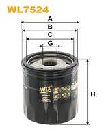 Фильтр масляный FORD FOCUS III, KUGA II 2.0 TDCI 14- (пр-во WIX-FILTERS) WL7524
