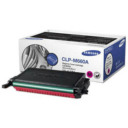 Картридж Samsung CLP-610ND/ 660N/ ND magenta, фото 2