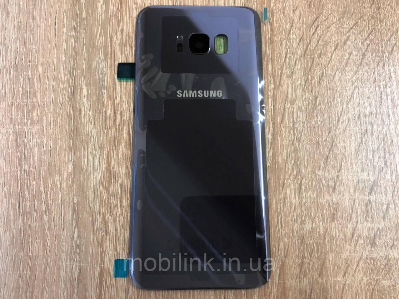 36427a6839a4f Крышка задняя Samsung SM-G955 Galaxy S8 Plus Duos,Серая Orchid Grey  оригинал!
