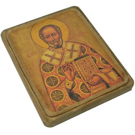 Икона Святой Николай ХVII в., фото 2