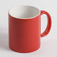 Чашка хамелеон красная. Чашка магическа