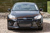 Алюминиевая решетка радиатора на Ford Focus 2011-2014