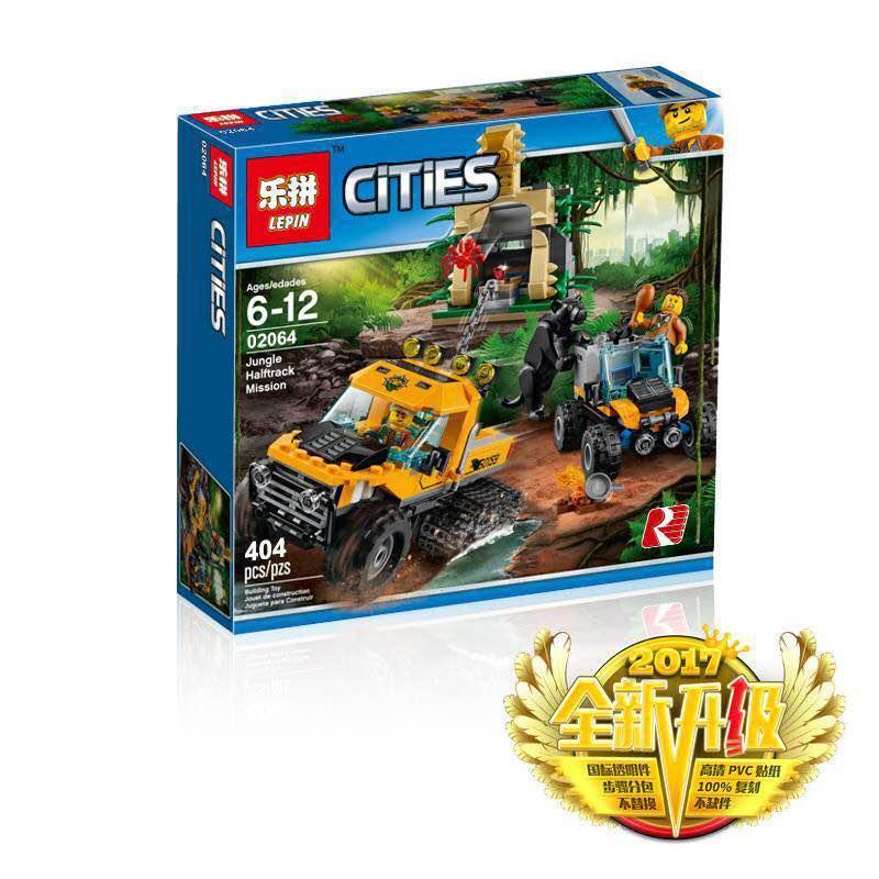 02064 Конструктор типа лего LEPIN Городская серия 404дет.
