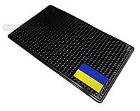 Антискользящий коврик для мобильных устройств UA, цвет: черный