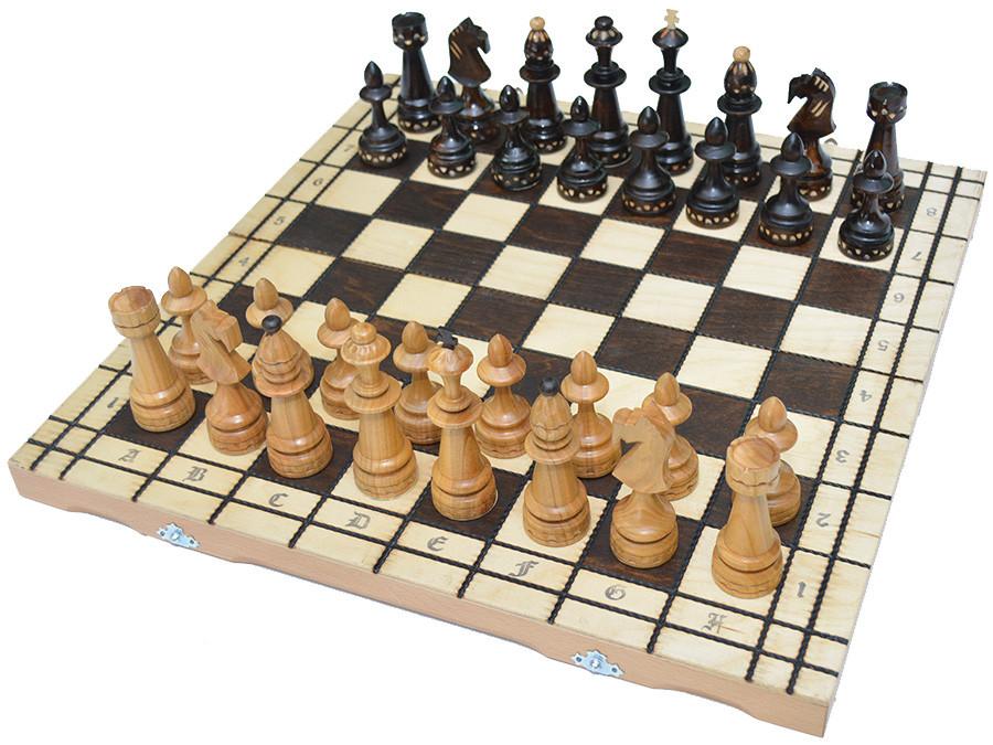 """Деревянные шахматы """"Индия"""" (54х54см.)"""