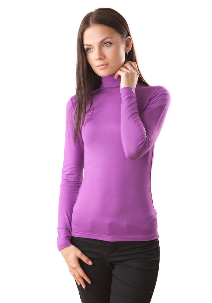 Ніжний яскравий жіночий гольф з віскози. Різні забарвлення