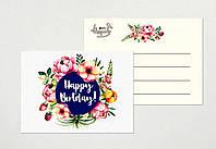 Мини открытки оптом happy birthday