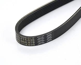 Поликлиновый (ручейковый) ремень на Renault Dokker 2012->, 1.5dCi — Renault (Оригинал) - 7700114635