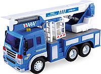 Автокран Dave Toy Junior Trucker 28 см со светом и звуком (33019)
