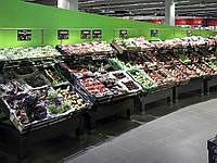 Мебель полки и стелажи для супермаркета