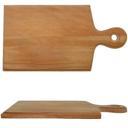 Деревянная доска разделочная 34 х 18,5 см, фото 2