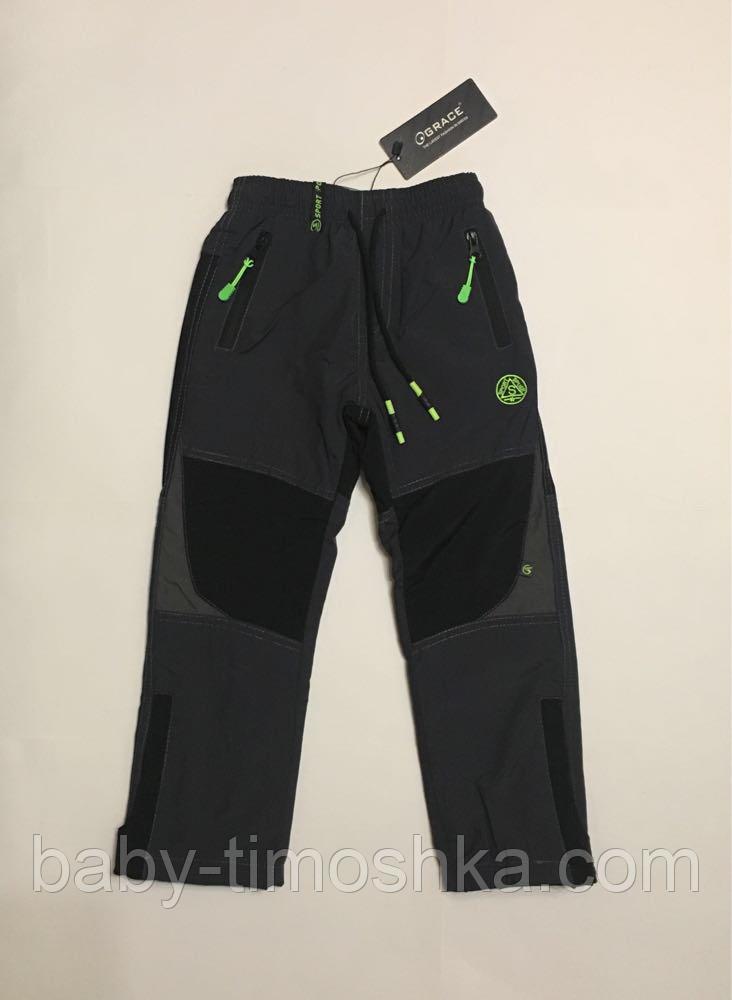 Балоневые штани на флісі р. 128 см