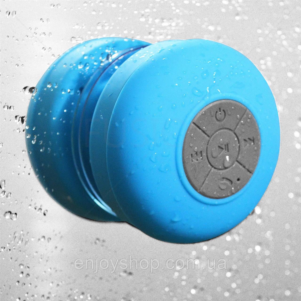 Блютуз Колонка SPS X1 waterproof (водонепроницаемая) на присоске