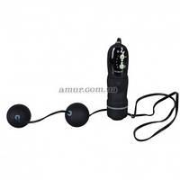 Вагинальные шарики Vibrating Black Balls