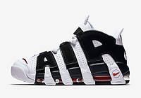 "Кроссовки баскетбольные Nike Air More Uptempo ""Scottie Pippen"", материал - натуральная кожа+замша"