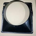 Кожух вентилятора МАЗ 5337, 53371, 5551 (пр-во ОЗАА) 5551-1309011-02 диффузор
