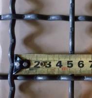 Канилированная сетка сложно-рифленная 50*50*3.6