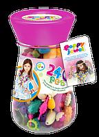 Игровой набор Dave Toy Poppy Jewel 240 деталей для изготовления украшений (72003)