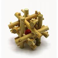 Головоломка деревянная (7х7х7см)