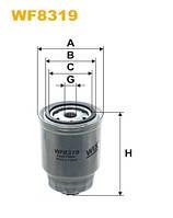 Фильтр топлива NISSAN ALMERA WF8319/PP857/1 (производитель WIX-Filtron) WF8319
