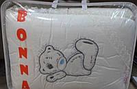 """Фирменный комплект постельного белья с балдахином. Вышивка """"Мишка Тедди"""""""