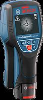 Детектор Bosch D-tect 120 Professional (120 мм) вкладка под L-Boxx, 4 батарейки x 1,5-V-LR6 (AA), картонная упаковка L-BOXX-ready, карта с описанием быстрого ввода в эксплуатацию, переходник для щелочных аккумуляторов AA1