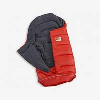Конверт с флисовой подкладкой красный, KHW