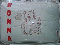 """Фирменный комплект постельного белья с балдахином. Вышивка """"Бегемотик"""""""