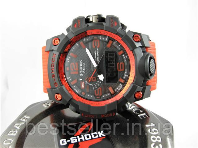 Часы Casio G-Shock GWG-1000 Mudmaster Red/Black.
