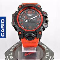 Часы Casio G-Shock GWG-1000 Mudmaster Red/Black. Реплика ТОП качества!, фото 1