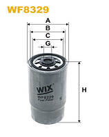 Фильтр топлива WF8329/PP968/4 (производитель WIX-Filtron) WF8329