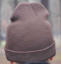 Черная хип хоп шапка без надписей чистая, фото 2