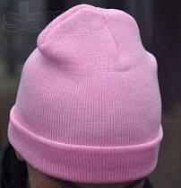 Черная хип хоп шапка без надписей чистая, фото 3