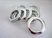 Люверс для штор серебро 3.5*5.5 см