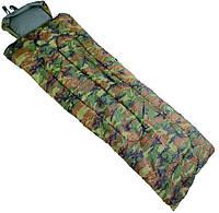 Спальный мешок тёплый MilTec Pilot Woodland 14101020, фото 1