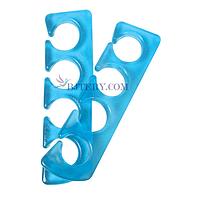 Силиконовый, многоразовый сепаратор (разделитель пальцев) для педикюра
