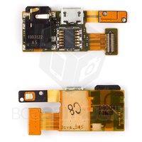 Шлейф для мобильного телефона Nokia 5330, камеры, коннектора зарядки, коннектора наушников