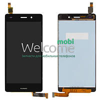 Дисплей Huawei Ascend P8 Lite with touchscreen black orig