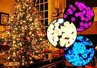 Цветные гирлянды с круглыми LED лампочками на 100шт ,разные размеры
