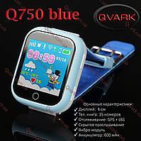 Детские часы Smart watch Q750 Blue