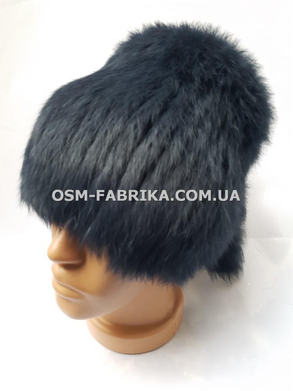 Стильная меховая шапка кролик от производителя