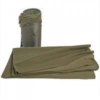 Одеяло флисовое 200x150 см MilTec Olive 14426001
