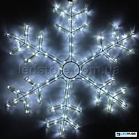 Светодиодная фигура Снежинка DELUX MOTIF Snowflake 0.55*0.55м IP44 Белый