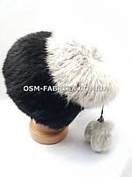 Женская меховая шапка кролик по выгодным ценам, фото 1