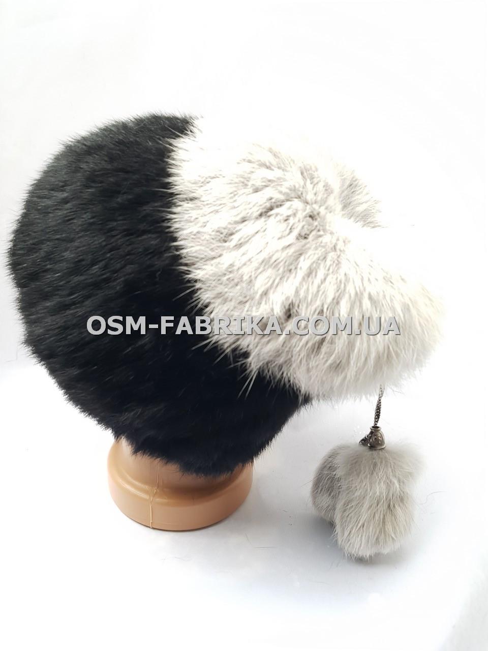 Женская меховая шапка кролик по выгодным ценам