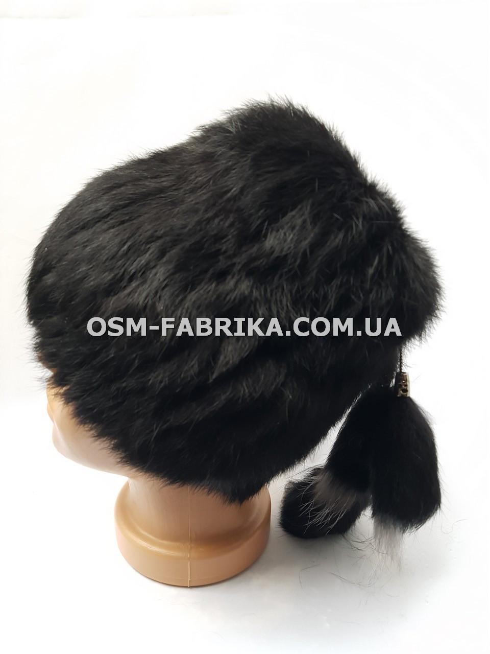 Модная женская меховая шапка кролик по выгодным ценам