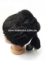 Модная женская меховая шапка кролик по выгодным ценам, фото 1