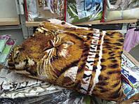 Меховое двуспальное покрывало на кровать - ИЗИ