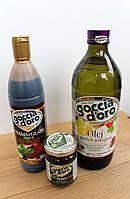 """Набор """"Салатный"""": бальзамический крем, масло виноградной косточки, соус Pesto Базилик"""